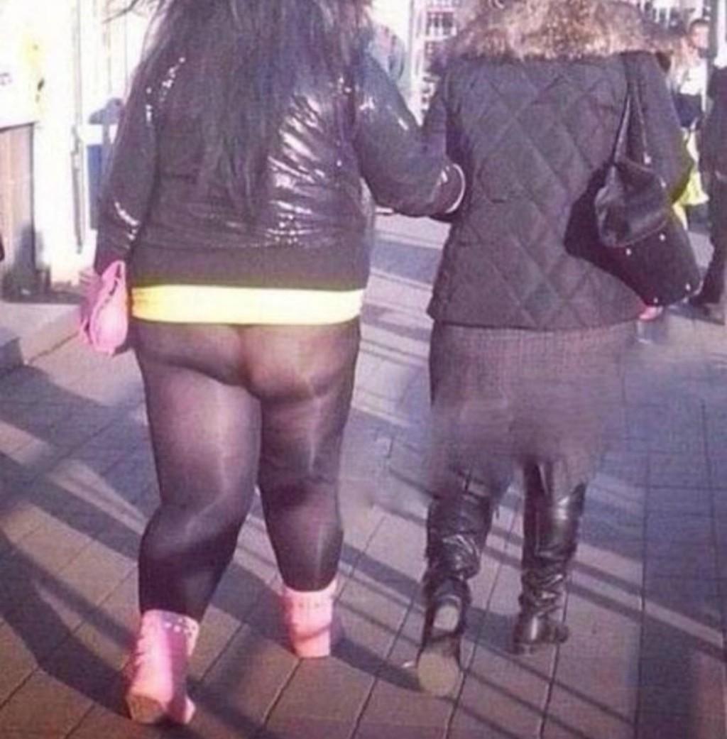14 mulheres que provaram que a legging deve ser escolhida com muito cuidado ou seus segredos serão revelados